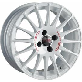 OZ SUPERTURISMO WRC WHITE Wheel 7x18 - 18 inch 4x108 bold ci - 10146