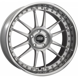 OZ SUPERLEGGERA III RACE SILVER Wheel 8.5x18 - 18 inch 5x130