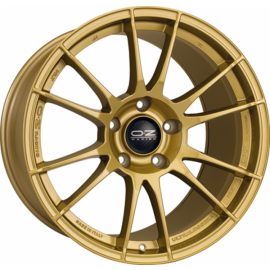 OZ ALLEGGERITA HLT RACE GOLD Wheel 7x18 - 18 inch 5x114.3 bo - 10285