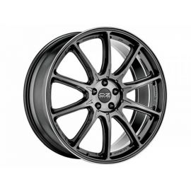 OZ HYPER XT HLT STAR GRAPHITE D. LIP Wheel 10x22 - 22 inch 5 - 11266