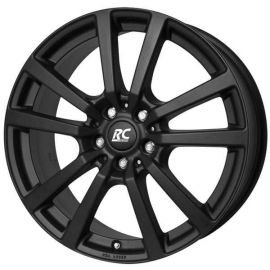 RC 25 T black mat Wheel 6 5x16 - 16 inch 5x118 bolt circle