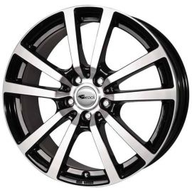 RC 25 black shiney Wheel 7,5x17 - 17 inch 5x127 bolt circle - 11722
