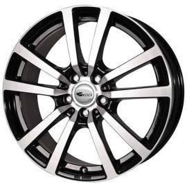 RC RC25T black glossy full polished -SGVP Wheel 6,5x16 - 16 inch 5x120 bolt circle - 11496