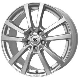 RC 25 silver Wheel 7,5x17 - 17 inch 5x130 bolt circle - 12373