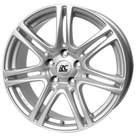 RC 28 silver Wheel 7 5x17 - 17 inch 4x100 bolt circle