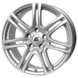 RC 28 silver Wheel 6,5x15 - 15 inch 5x100 bolt circle - 12705