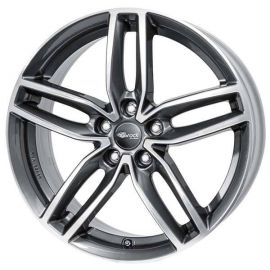 RC RC29 Himalaya Grey full polished -HGVP Wheel 8,5x20 - 20 inch 5x110 bolt circle - 12737