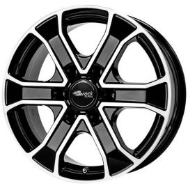 RC 31 black shiney Wheel 8x18 - 18 inch 6x130 bolt circle - 12599