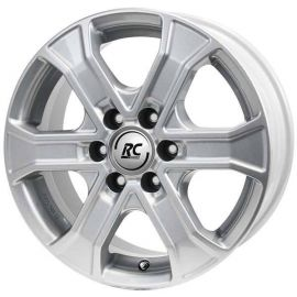 RC 31 silver Wheel 7x17 - 17 inch 6x114 3 bolt circle