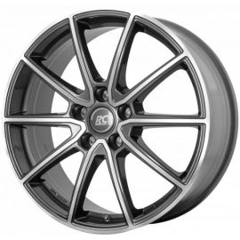 RC RC32 Himalaya Grey full polished -HGVP Wheel 6,5x16 - 16 inch 5x100 bolt circle - 11403