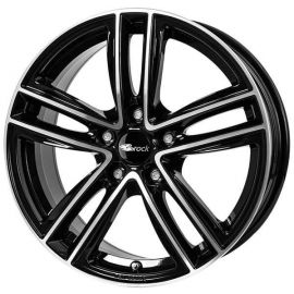 RC RC27 black glossy full polished -SGVP Wheel 7x18 - 18 inch 5x105 bolt circle - 11810