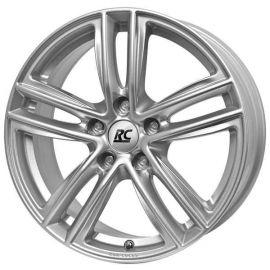 RC RC27 Silver -KS Wheel 7x18 - 18 inch 5x105 bolt circle - 12584