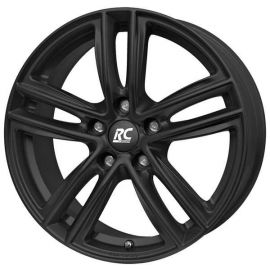 RC 27 black mat Wheel 7x17 - 17 inch 5x100 bolt circle - 12400