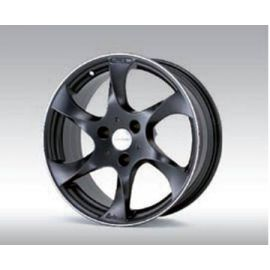 Lorinser Speedy black, polished edge Wheel 6,5x17