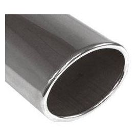 Fox end tip type Typ 36 115x85 mm / Length: 300 mm - oval / rolled up / currently / without absorption refrigeration
