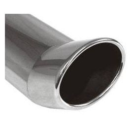 Fox end tip type Typ 42 115x85 mm / Length: 300 mm - oval / rolled up / FOX-Design / without absorption refrigeration