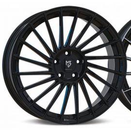 MB Design VR3 black mat Wheel 7,5x18 - 18 inch 5x100 bolt circle - 6296
